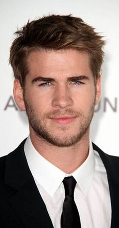 Liam Hemsworth Liam was born in Melbourne, Victoria. He is the younger brother of Chris and Luke Hemsworth. He is an actor, known for The Hunger Games: Catching Fire, The Hunger Games, The Hunger Games: Mockingjay - Part 1 and The Expendables Luke Hemsworth, Hemsworth Brothers, Cool Mens Haircuts, Haircuts For Men, Hot Actors, Actors & Actresses, Hottest Actors, Liam Hamsworth, Celebrity Crush