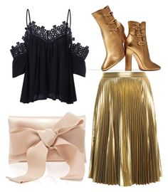 """☺"" by stocheciusara ❤ liked on Polyvore featuring A.L.C., Gianvito Rossi and Oscar de la Renta"