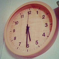 ここ数年時計無しの我が部屋に時計復活ニトリありがとう#twitter #snapshot #snap #ニトリ
