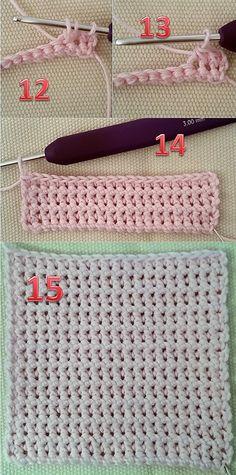 Hækling for begyndere med lette hækleopskrifter del 1 Indian Designer Wear, Knit Crochet, Diy And Crafts, Panda, Sewing, Knitting, Projects, Baby, How To Make