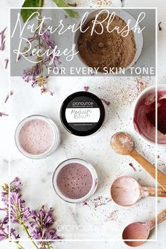 Learn how to DIY natural blush recipes for every skin tone. It's easy, and way better for you than the conventional blushes on the shelves, filled with toxins. - Pronounce Skincare & Herbal Boutique