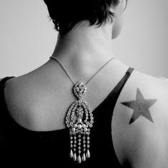 Back necklace by AKKESOIR  http://www.myakkesoir.com/