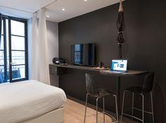 """Suite """"Sequoia"""" à Lyon by Mi Hotel SUITES • DESIGN • CONFIDENTIELLES"""