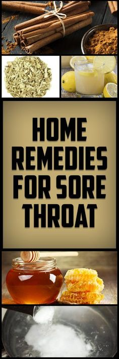 Try These 5 Home Remedies to Stop Sore Throat.