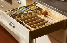 organizator din lemn pentru sertar Tray, Kitchen, Design, Cooking, Kitchens, Trays, Cuisine, Cucina