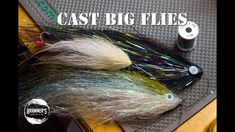 How to Make BIG flies Cast-able: Weight Balancing Flies - YouTube Pike Flies, Fly Casting, Fly Tying, It Cast, Big, Youtube, Youtubers, Youtube Movies, Fishing Lures