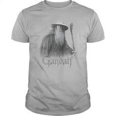 Lord Of The Rings – Gandalf The Grey T Shirt, Hoodie, Sweatshirts - shirt dress #shirt #Tshirt