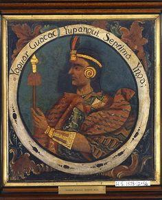 :Brooklyn Museum - Yahuar Huacac Yupanqui, Seventh Inca, 1 of 14 Portraits of Inca Kings - overall