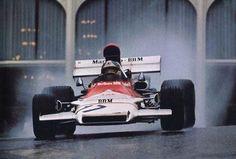Jean-Pierre Beltoise en route to BRM's final GP victory at Monaco, 1972