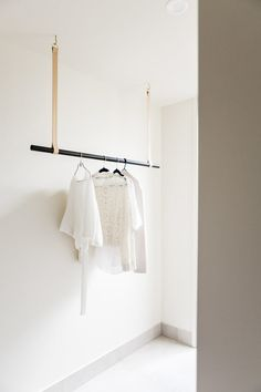 Leather Hanging Rail