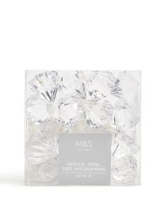 Set of 16 acrylic diamonds
