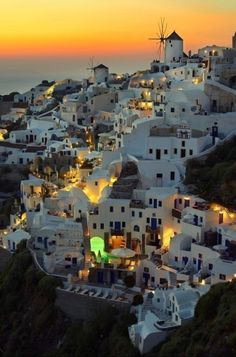"Santorini, Greece - I have always remembered this place from the really bad 70's movie ""Summer Lovers"".  I would LOVE to go here someday for sure.  According to the movie, a small villa here was $6,000/week .... in the 70's!"