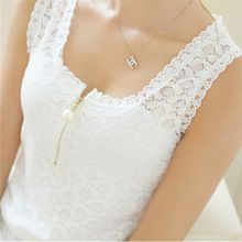 2017 Fashion Summer Style Ladies Tops With Lace Patchwork Fitness Women White Sexy Hollow Out Lace Chiffon Blouse Shirt 20 Size S Color Black White Lace Blouse, Black And White Blouse, White Blouses, Black White, Lace Camisole, Color Black, Women's Summer Fashion, Fashion 2016, Style Fashion