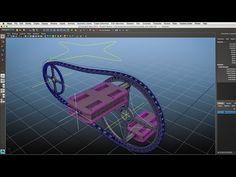Autodesk Maya - Rigging Pedais Engrenagem e Corrente - YouTube
