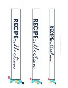 Daily Planner Printable, Recipe Organization, Budget Planner, Recipe Collection, Binder, Printables, Kit, Cook Books, Design