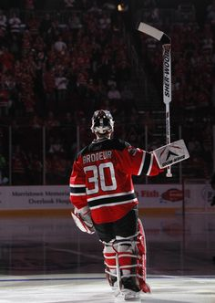Marty Bordeur- New Jersey Devils. Image: Prudential Center