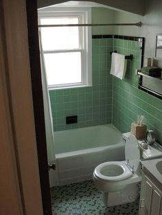 1000 Images About Vintage Tile Bathrooms On Pinterest