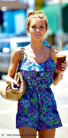 Street style <3 love this summer dress!