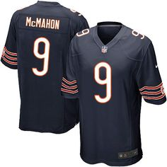acb4cd6c9 Nike Chicago Bears Jim McMahon Limited Jersey Youth Navy Blue  9 Team Color NFL  Jerseys