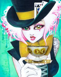 "Leilani Joy  ""The Mad Hattress"" 2011"
