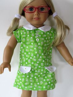 American Girl Doll Clothes  Green and by EverythingNice4Dolls, $18.99