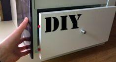 Fabriquez un tiroir secret pour vos objets de valeur