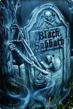 ☮ American Hippie Classic Rock Music Poster ~ Black Sabbath