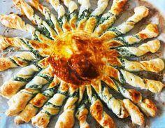 Tarte soleil au beurre d'ail
