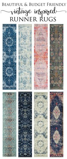 Beautiful and Budget Friendly Runner Rugs that are vintage inspired. Runners Rugs Ideas of Runners Rugs - Vintage Rugs - Ideas of Vintage Rugs Course Vintage, Bathroom Runner Rug, Bathroom Rugs, Bath Rug Runner, Kitchen Rug Runners, Master Bathroom, Bathrooms, Entryway Runner, Hallway Runner Rugs