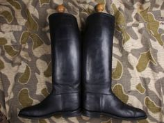 Ww2 German Army Elite Officers Jack Boots W/d.r.g.m. Marked Herkules Stretchers • $239.99 - PicClick