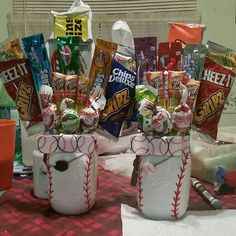 Mason Jar Candy, Mason Jars, Graduation Gifts For Boys, Gourmet Candy, Candy Bouquet, Sports Gifts, Jar Gifts, Sports Teams, Man Candy