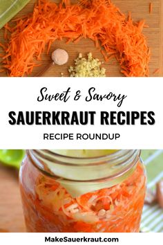 35 of the best homemade sauerkraut recipes. Learn how to make your own sauerkraut at home.Tantalize your taste buds and add probiotics to your meals. Fermented foods for gut health. #paleo Homemade Sauerkraut, Sauerkraut Recipes, Fermented Foods, Gut Health, Taste Buds, Kimchi, Spicy, Cabbage, Paleo