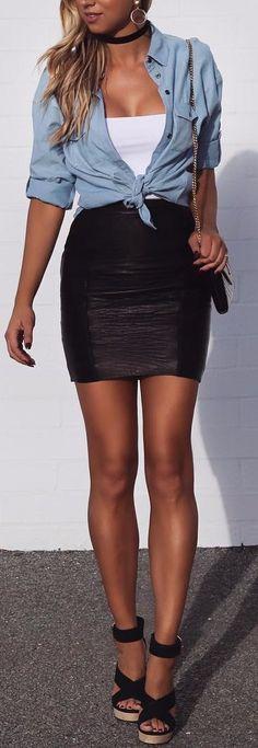 4905e7f6da0 31 Best Black pencil skirt outfit images in 2017 | Black pencil ...