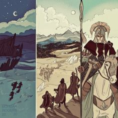 Tolkien Art Dump • Podcast started Two Towers! So here's the first... Tolkien Hobbit, Lotr, The Hobbit, Hobbit Art, Midle Earth, Character Art, Character Design, Up Book, Lord Of The Rings