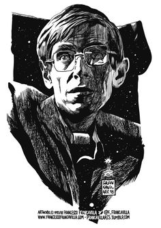 francavillarts: We are just an advanced breed of monkeys on a minor planet of a very average star. But we can understand the Universe. Goodbye Stephen Hawking see you at the end of the Universe. Monkey Species, Stephen Hawking Quotes, Charles Darwin, Science Art, Art Festival, Pop Culture, Pop Art, Original Art, Illustration Art