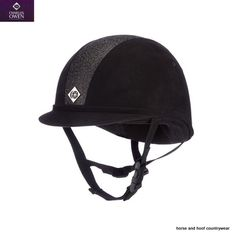 Charles Owen Riding Hat - Midnight Black Charcoal The launch of this hat means young riders have even more choice at Charles Owen Fully trimmed Horse Riding Helmets, Riding Gear, Black Sparkle, Black Silver, My Horse, Horses, Horse Supplies, Show Jumping, Hat Sizes