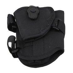 4750 Ranger Triad Ankle Holster - Black, Size 13-14, Left Hand