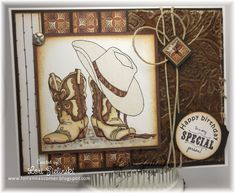 by - Cards and Paper Crafts at Splitcoaststampers Horse Cards, Scrapbook Cards, Scrapbooking, Boy Cards, Westerns, Stamping Up Cards, Birthday Cards For Men, Marianne Design, Card Making Inspiration