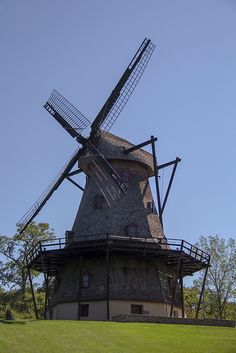 Windmill in Geneva, Illinois