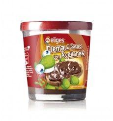 Crema de cacao con avellanas vaso plástico 1 sabor 500 grs.