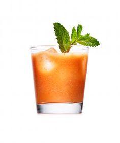 Smokey Cantaloupe Lime Cocktails Recipe — Dishmaps