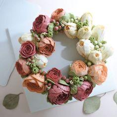 """End of summer flower cake…""                                                                                                                                                      More"