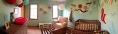 Our gender neutral twin nursery! DONE!