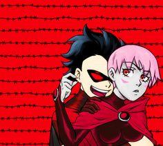 Red Robin & Red Raven❤ From Teen Tyrants (de verdad me encantan!)