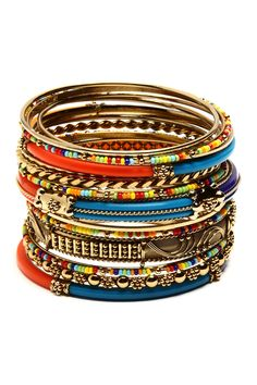 Monaco // stacking bangles #jewelry_design