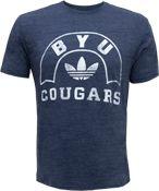 Adidas Tri-Blend Cougars Navy BYU T-Shirt