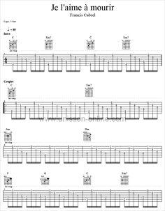 Image associée | Accords de guitare, Tablature guitare et ...
