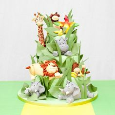 Best jungle cake ever www.londoncake.co.uk