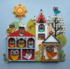 owl paper crafts - Bing Images