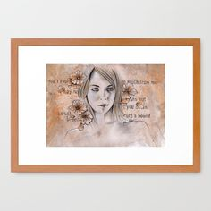 """Expectations"" framed prints at @society6 •: SHOP: https://society6.com/product/expectations-5ce_framed-print#12=64&13=56 • #art #drawing #portrait #etsy #facebook #etsyshop #eyes #girl #grey #orange #flowers #white #paper #graffiti #modernart #artforsale #acrylic #kissmyart #pencils #pastels #abstract #surreal #ritratto #matita #disegno #ragazza #arte #occhi #fiori #print #stampa #society6 #prints #fineartprints"